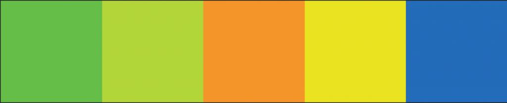 BridgeKidz Color Scheme