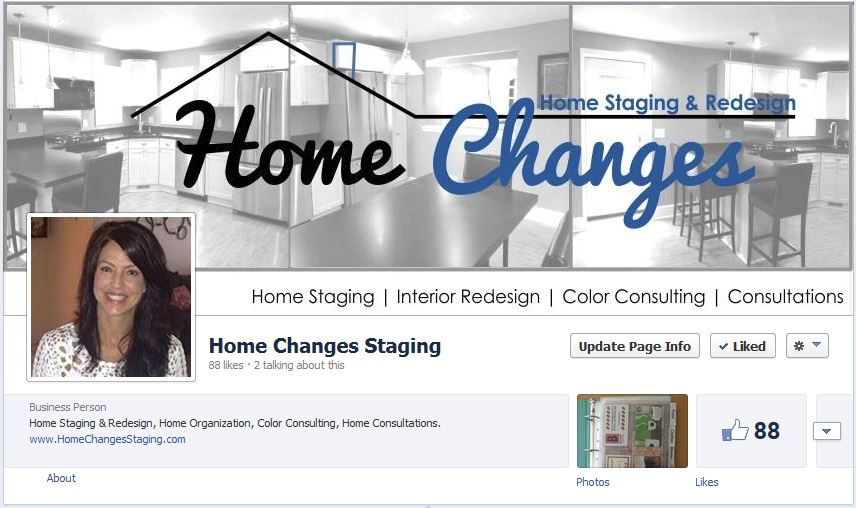 Home Changes on Facebook