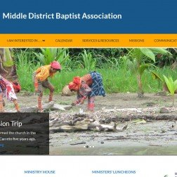 Middle District Baptist Association home page
