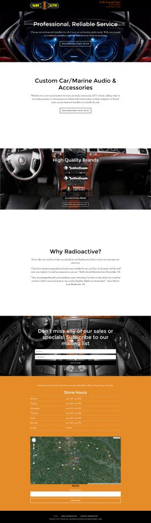 Radioactive Custom Car Audio & Accessories