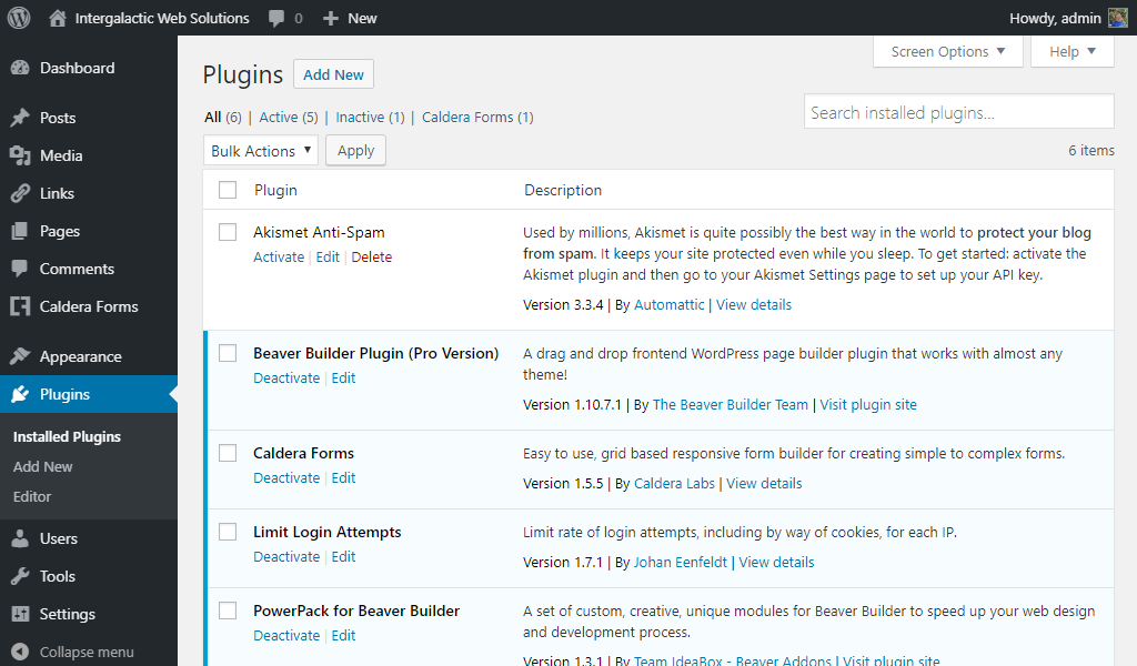 Akismet is a Must-Have WordPress Plugin | Intergalactic Web Solutions